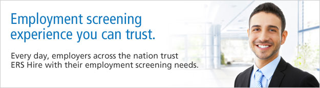 Employment Screening Services you can trust.